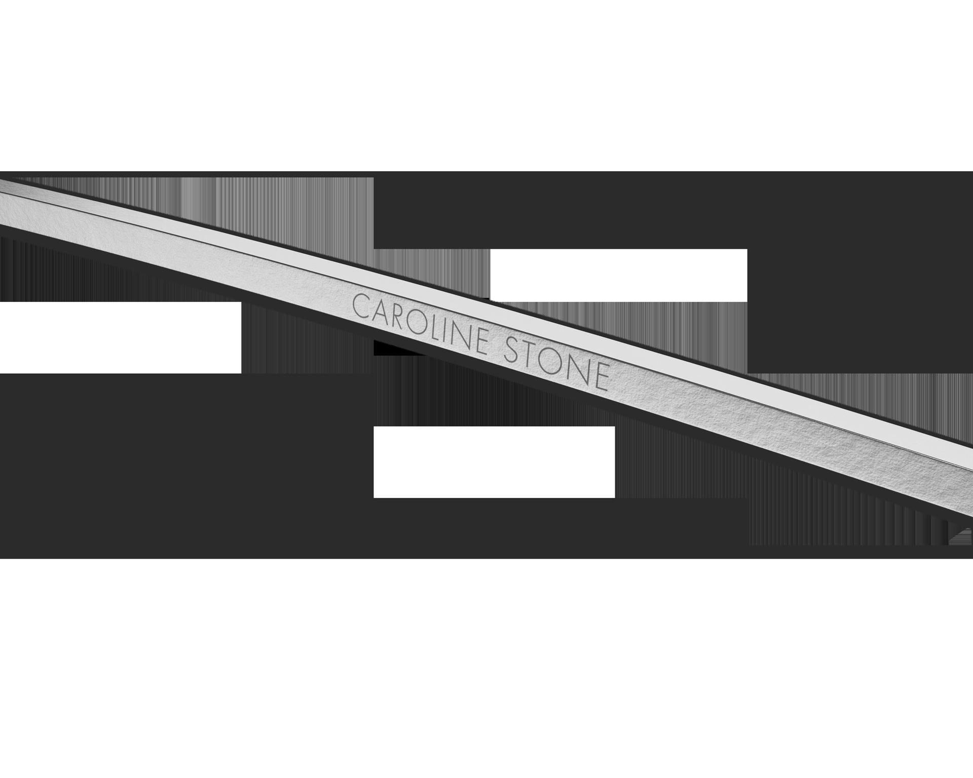 Personalizzazione con nome sull'asta degli occhiali in titanio LINDBERG Thintanium