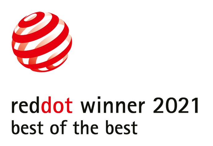 Vincitore Red Dot Best of the Best Award 2021